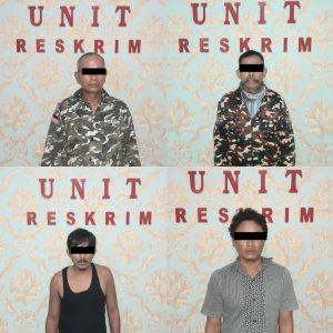 4 Penjudi Koprok Sedang Asyik Bermain , Digerebek Polsek Seputih Mataram