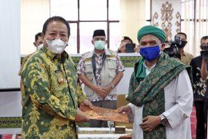 Gubernur Arinal Terima Aspirasi Dari Forum Suara Masyarakat Lampung