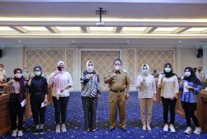 Gubernur Arinal Lepas Kontingen Lampung Untuk Mengikuti Lomba Byarr Indonesia
