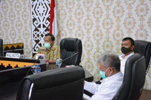 Wali Kota Metro hadiri Vicon Penyerahan DIPA dan TKDD Oleh Presiden RI