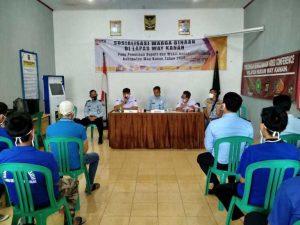 Tri Sudarto Sosialisasi Pilkada Di Lapas Waykanan , 126 Napi Punya Hak Pilih.