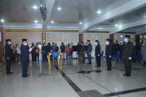 Bupati Rolling 7 Pejabat Eselon ll B Dilingkungan Pemkab Lampung Utara