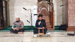 Tingkatkan Iman dan Taqwa, Polda Banten Gelar Pengajian Rutin Dengan Prokes