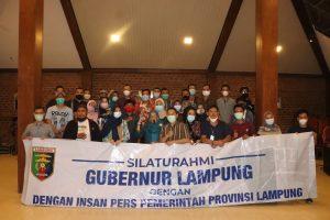 Mewakili Gubernur , Sekdaprov Lampung Hadiri Malam Ramah Tamah, Silaturahmi Bersama Insan Pers Pemprov