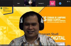 Dosen IIB Darmajaya Kenalkan Bisnis Digital di Lampung Youth Conference