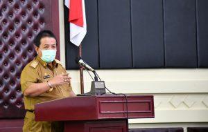 Pimpin Rakor Vaksinasi Covid-19 , Arinal Ajak Bupati/Wali Kota Kawal Pelaksanaan Vaksin