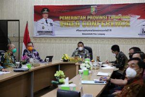 Bersama Tim Korsupgah KPK, Gubernur Arinal Tegaskan Komitmen Pemprov Lampung Dalam Pencegahan Korupsi