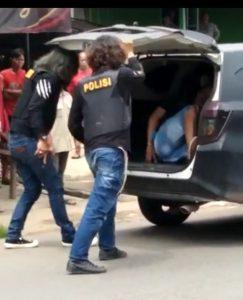 Viral Medsos , Bak Film Aksi Penangkapan Pelaku Kejahatan Oleh Tekab 308 Polres Tubaba.