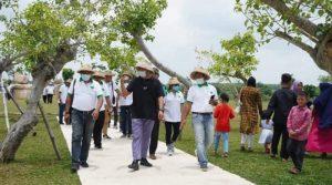 Bupati Umar Ahmad Pimpin Field Trip Destinasi Tubaba