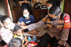 Polresta Tangerang Bantu Sepenuhnya Biaya Pengobatan Korban Penganiayaan