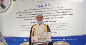 Luar Biasa ! Yazid Kembali Harumkan Kota Metro, Raih Juara Nasional Hafiz Al Quran
