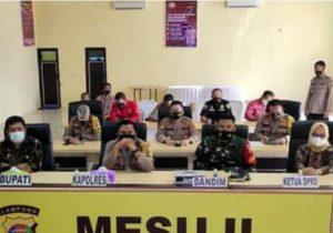 Ketua DPRD Mesuji Ikuti Zoom Meeting ZI , WBK , WBBM Bersama Kapolda Lampung