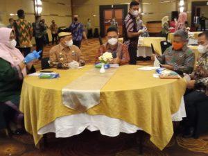 Pemkab Lampung Timur Rapat Koordinasi Penguatan Tata Kelola Manajemen ASN