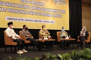 Dialog Interaktif FSTV, Gubernur Ajak Pemangku Kepentingan , Perkuat Penanganan Covid-19