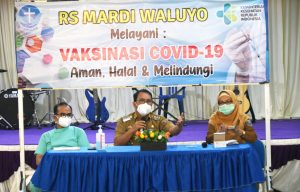 Wali Kota Metro Tinjau 4 Rumah Sakit, Tangani Covid-19 di Kota Metro