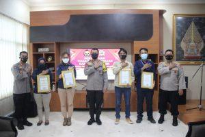 Polda Banten Beri Penghargaan ke Ratusan Media Massa di Berbagai Daerah