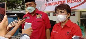 Muscab DPC PDIP Kabuapaten Mesuji , Condrowati Ingin Memenangkan Pileg 2024