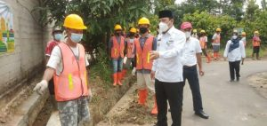 Wali Kota Metro, Tinjau Program KOTAKU (Kota Tanpa Kumuh) Tejosari dan Kelurahan Yosorejo