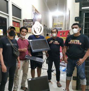 Team Tekab 308 Polres Mesuji Berhasil Meringkus Pembobol SMA N 1 Mesuji