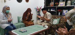 Wali Kota Metro Kunjungi Ibunda Kolonel Laut Anumerta Heri Oktavian