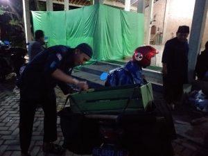 Menjelang Berbuka Puasa MBI Region Metro, Bagikan Nasi Kotak