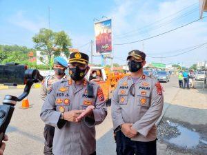 336 kendaraan Pemudik di Putar Balikkan oleh Polda Banten