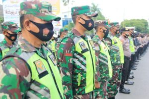 Pimpin Apel Kesiapan Pengamana, Wali Kota Metro Bersama Dandim 0411/LT dan Kapolres Metro