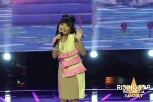 Yoshi Ayu Agustin dari Lampung, Berhasil Buka Layar Interaktif Rising Star Indonesia Dangdut