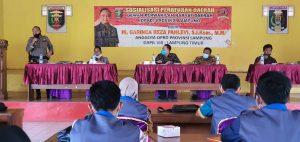 DPRD Lampung Gandeng LPAI Lampung Timur Sosialisasikan Perda Provinsi No.2