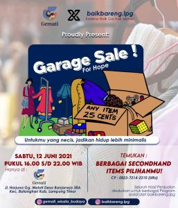 Garage Sale For Hope Gemati bersama baikbareng.lpg