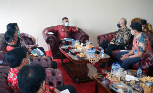 Terima Silaturahmi ASDP, Nanang Ermanto : Kami Siap Dukung Proyek Bakauheni Harbour City