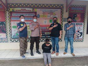 Pelaku Curat Di Lampung Utara Langsung Di Gelandang Polisi