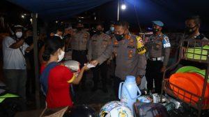 Ini cara Kapolres Cilegon Polda Banten ajak Pedagang Taati PPKM Darurat