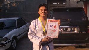 Mahasiswa Hafizh Quran , Juara E-Tournament Festival Taekwondo Lampung 2021 Berasal dari IIB Darmajaya