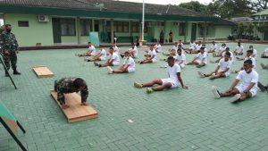 Kodim 0426 Tulang Bawang , Lakukan Pembinaan Calon Prajurit TNI-AD