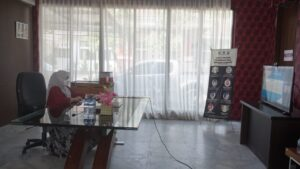 Ketua TP PKK Kabupaten Lampung Selatan Ikuti Webinar Gerakan Literasi Digital 2021 Sumatera II