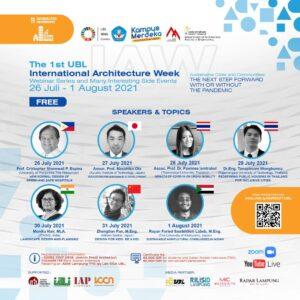 Hadirkan Pembicara Internasional, UBL Gelar Pekan Arsitektur Internasional Pertama