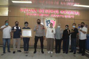 Hari Anak Nasional 2021, Polres Metro Jakarta Barat Terima Penghargaan dari KPAI