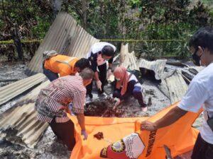 Petani Gunung Labuhan Way Kanan Tewas Terbakar di Gubuknya