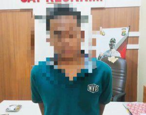 Pelaku Curat di Kagungan Dalam Ditangkap Tekab 308 Polres Tulang Bawang