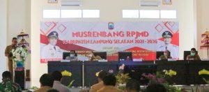 Nanang Ermanto Buka Musrenbang RPJMD Lamsel Tahun 2021 – 2026