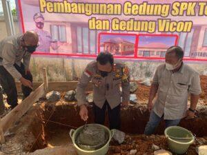 Polres Lampung Utara Bangun Gedung Sentra Pelayanan Kepolisian Terpadu