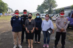 Begini Antusias Buruh Ikuti Vaksinasi di Wilayah Hukum Polda Banten