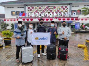 Tiga Santri Terbaik DT Peduli Lampung Melanjutkan Study di SMA Adzkia Islamic School