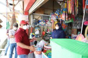 Pasca Relokasi, Nanang Kunjungi Pedagang Eks Pasar Bakauheni di Pasar Siring Itik