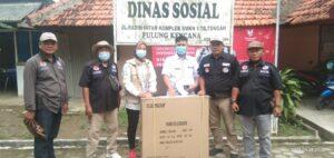 DPD JPKP Tubaba Dampingi Dinsos Serahkan Bantuan Kursi kepada Ibu Lasih