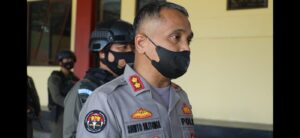 Kabid Humas Polda Banten Tinjau Brimob Polda Banten Latihan Pengamanan PON ke-XX di Papua