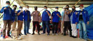 Menyambut HUT Ke-20, Partai Demokrat Lampura Gelar Vaksinasi Lima Desa