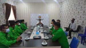 DPW PPP Lampung Berkunjung Ke Mapolda Lampung