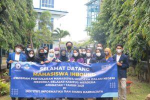 Implementasi MBKM di IIB Darmajaya, Mahasiswa dari Pulau Jawa Sampaikan Terima Kasih